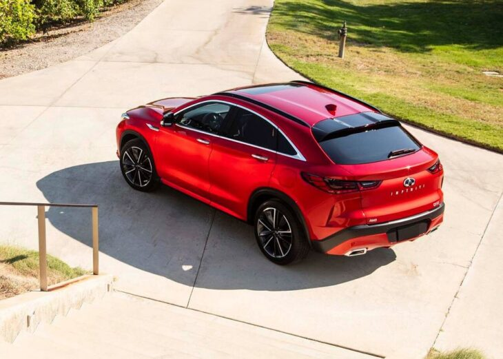 2022 Infiniti Qx55 Coupe Release Date