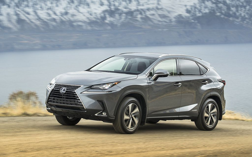 2022 Lexus Nx Redesign 300 F Sport Plug In Shots