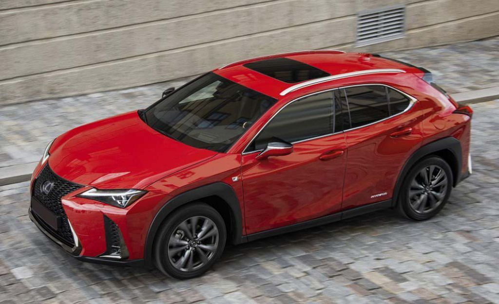 2022 Lexus Ux Colors 460 App 300