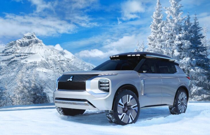 2022 Mitsubishi Outlander Engines Reviews Images