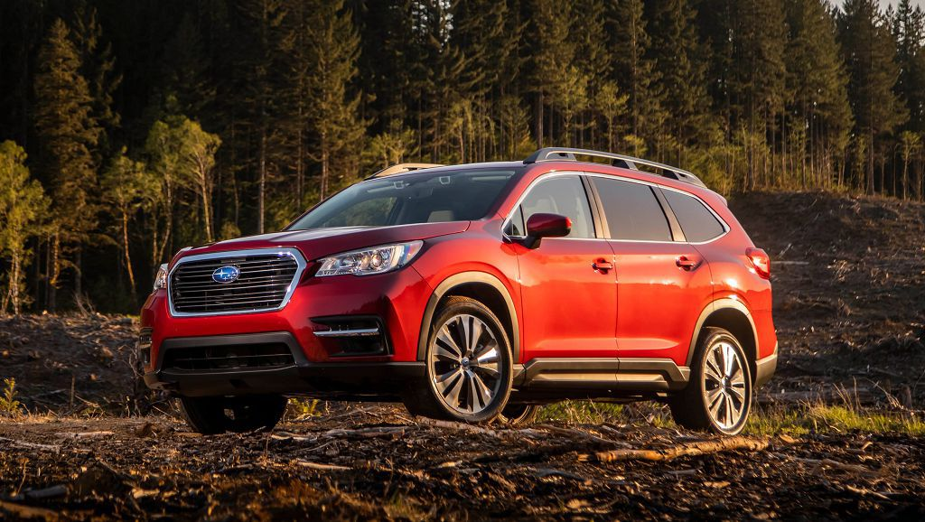 2022 Subaru Ascent Limited Premium Touring Review Off Road
