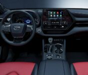 2022 Toyota Highlander Inside Black And Red Changes Images