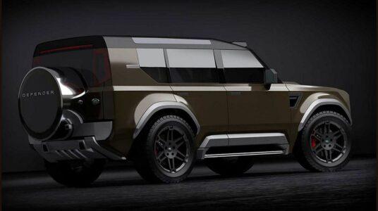 2021 Land Rover Defender 110 X Off Road 2 Door Toy