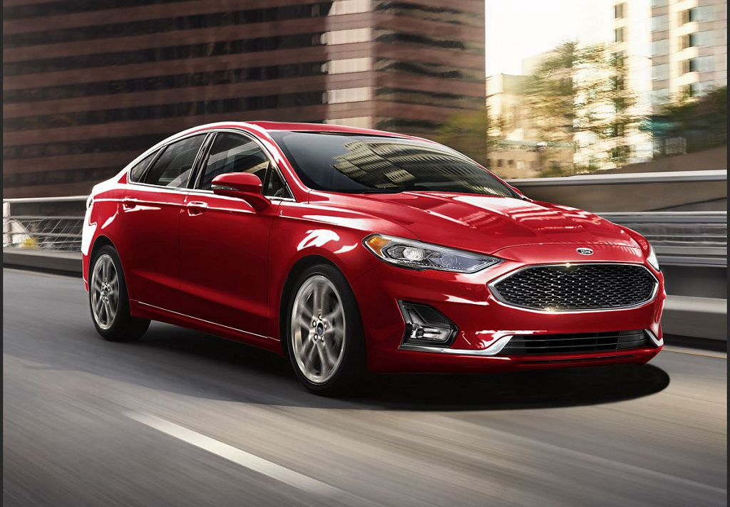 2022 Ford Fusion Active Crossover