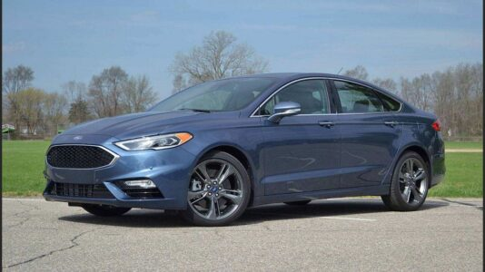 2022 Ford Fusion Crossover Style Wagon Sport