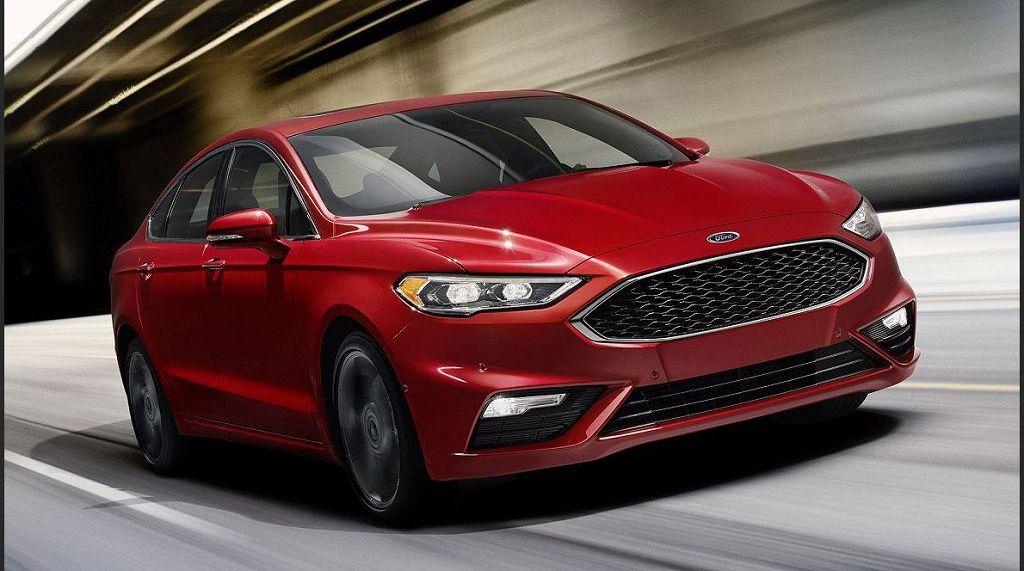 2022 Ford Fusion Recall Interior
