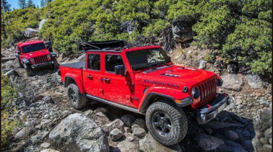 2022 Jeep Gladiator Interior Photos