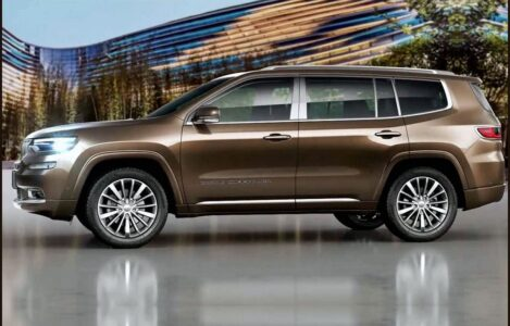 2022 Jeep Grand Cherokee Colors Release Limited Rendering