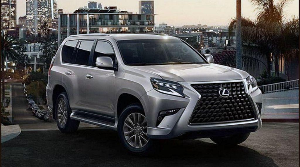 2022 Lexus Gx Interior 470