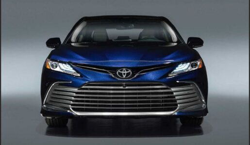 2022 Toyota Camry Xle Brochure