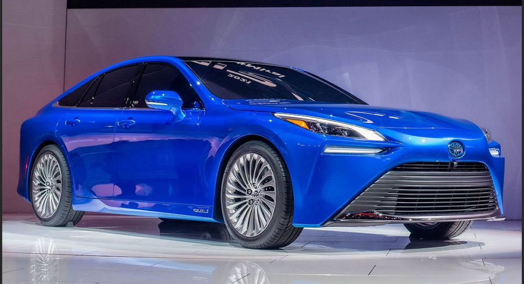 2022 Toyota Mirai Hybrid Review Photos New Cars