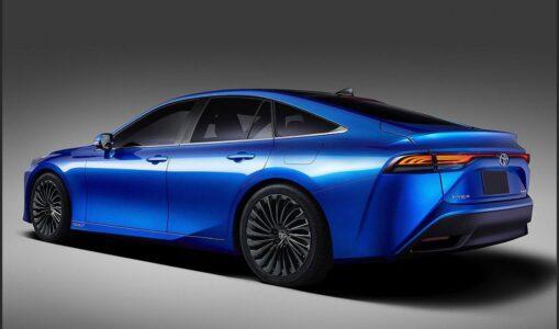 2022 Toyota Mirai Se Xse Hybrid Pictures