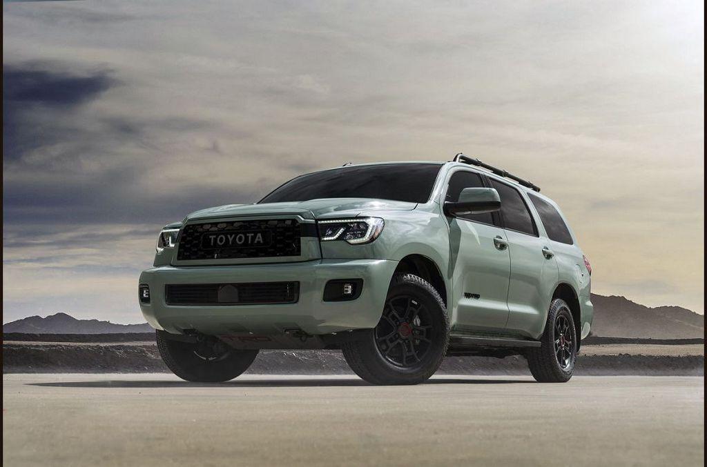 2022 Toyota Sequoia Concept Hybrid Platinum
