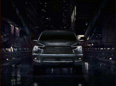 2022 Toyota Sequoia Hybrid Spy Photos