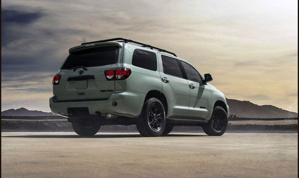 2022 Toyota Sequoia Limited Rumors Photos