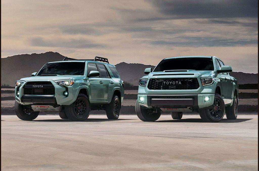 2022 Toyota Sequoia Trd Pro Engine