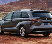2022 Toyota Sienna Brochure Interior