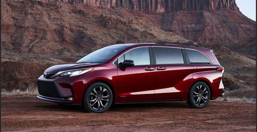 2022 Toyota Sienna Fuel Cell Powertrain Hydrogen Ev