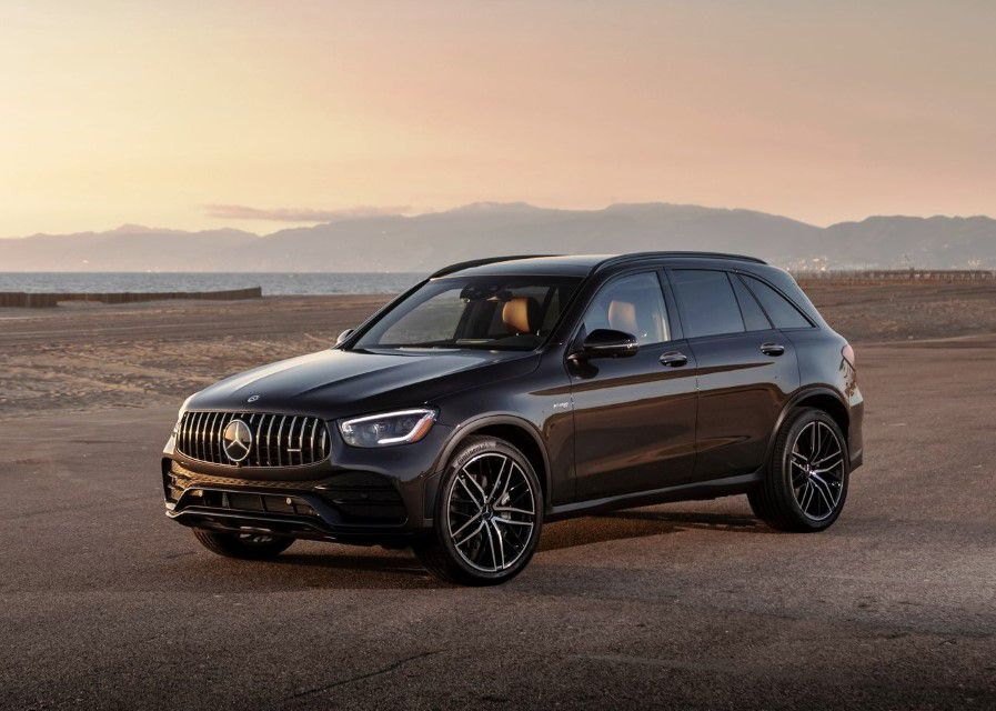 2022 Mercedes Glc 300 Suv Coupe