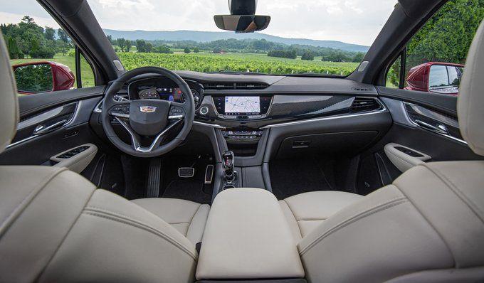 2022 Cadillac Xt6 Availability Black Colors Cargo Space