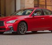 2022 Infiniti Q50 3.0t Pure Red Sport 400 Luxe Horsepower