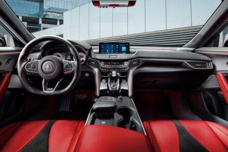 2022 Acura Tlx Interior Horsepower Type S Hp