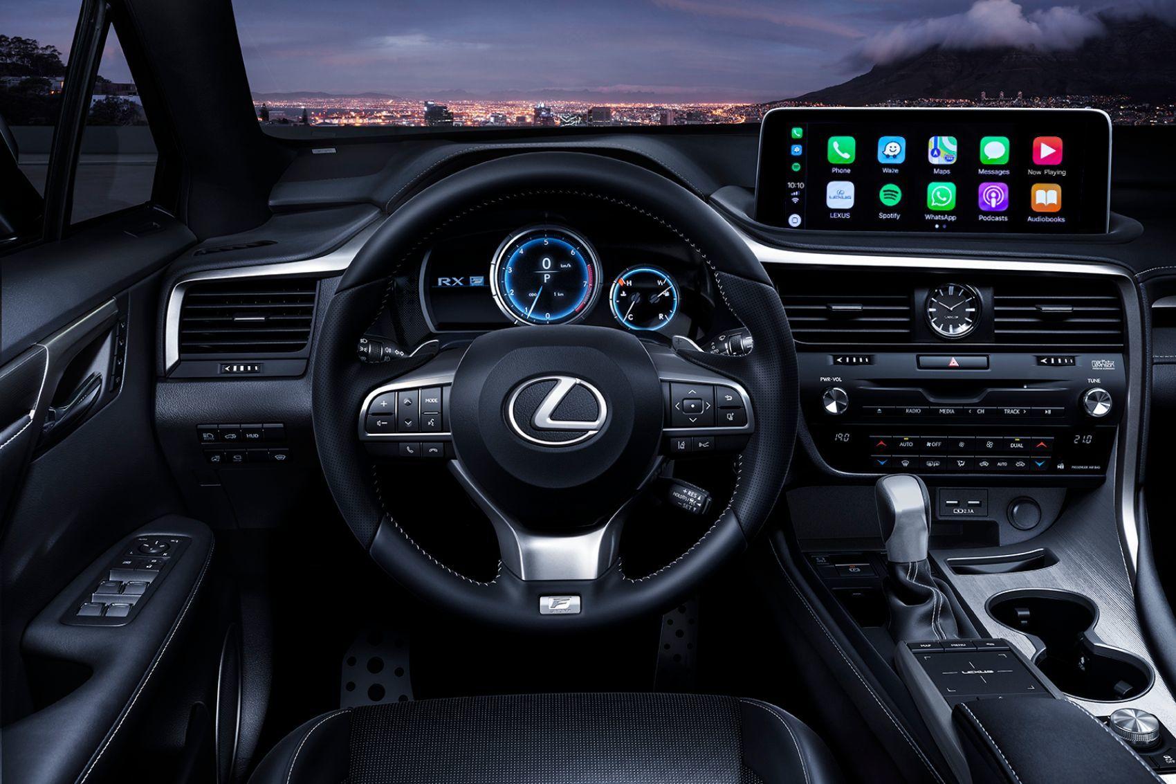 2022 Lexus Rx 350 F Sport Suv Spy Shots