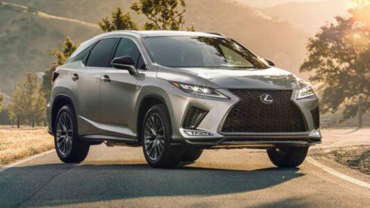 2022 Lexus Rx 350l Design Changes