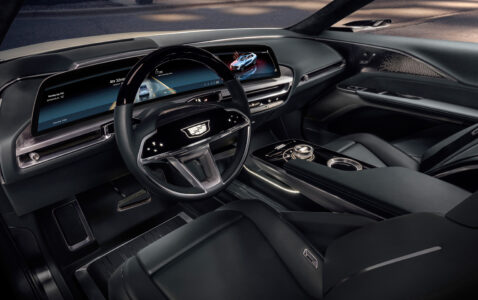 2023 Cadillac Lyriq Interior