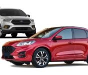 2023 Ford Escape Brochure Black Price Specs