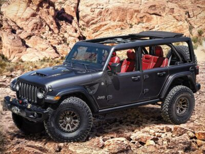 2023 Jeep Wrangler Redesign